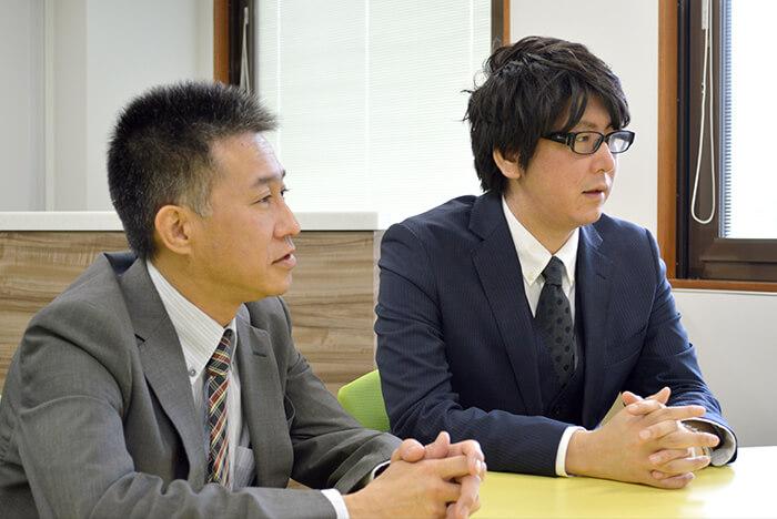 河合塾KALS スクール事業部 KALS新宿校 教務企画課  森靖義さま 佐藤広介さま