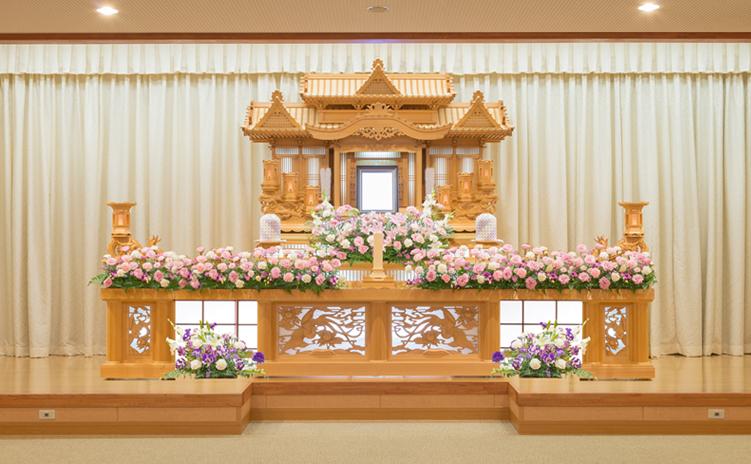 白木装飾祭壇4号