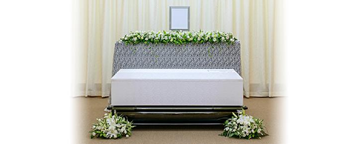 家族葬プラン46祭壇