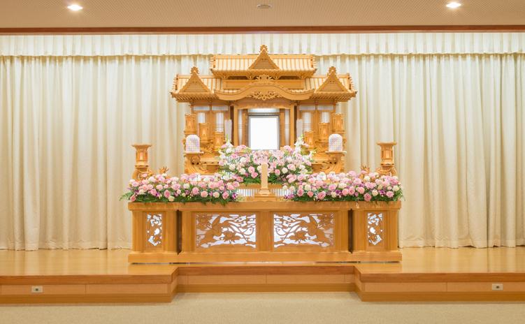 白木装飾祭壇3号