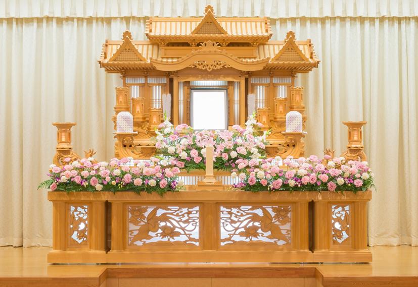 装飾生花祭壇3号