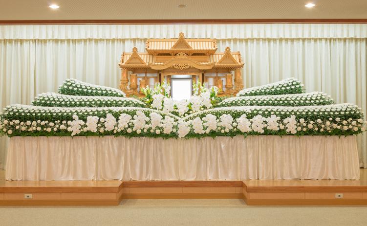 オリジナル生花祭壇7号