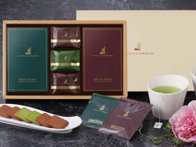 YH-B ティーバッグ煎茶&ドリップコーヒー&ラングドシャセット