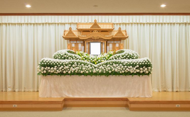 オリジナル生花祭壇4号