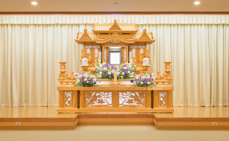 白木装飾祭壇2号