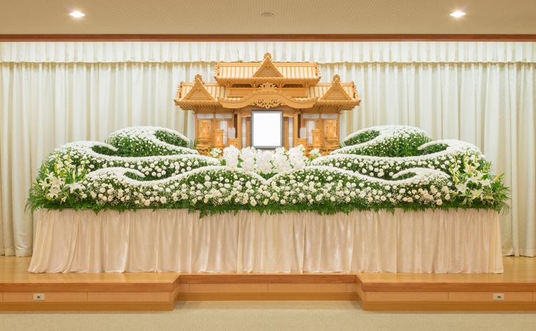 オリジナル生花祭壇5号