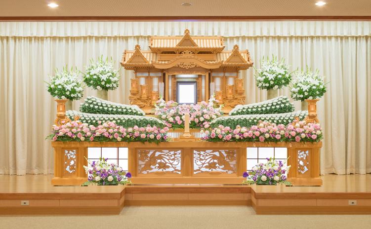 白木装飾祭壇6号