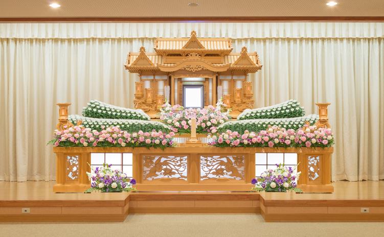 白木装飾祭壇5号