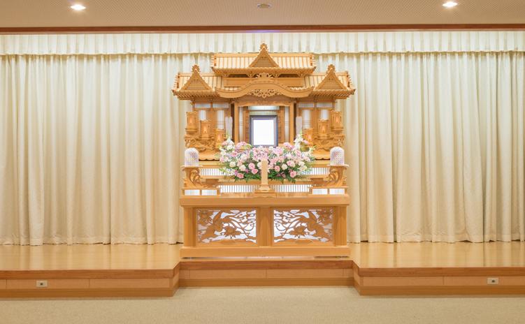 白木装飾祭壇1号