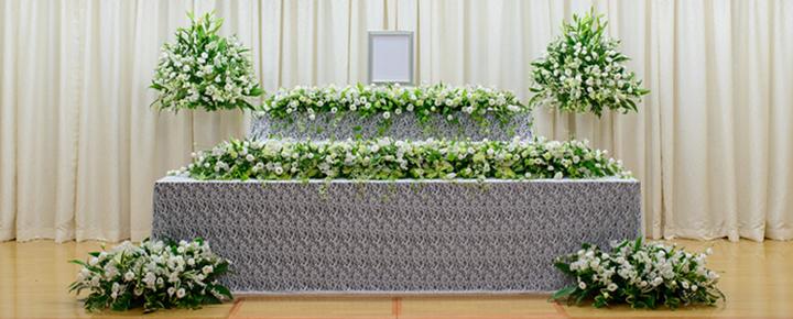 家族葬プラン93祭壇