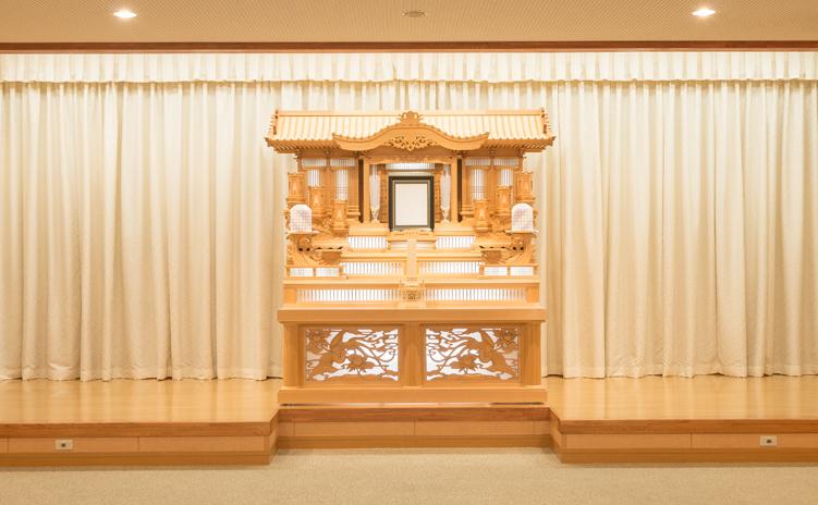 白木祭壇2号