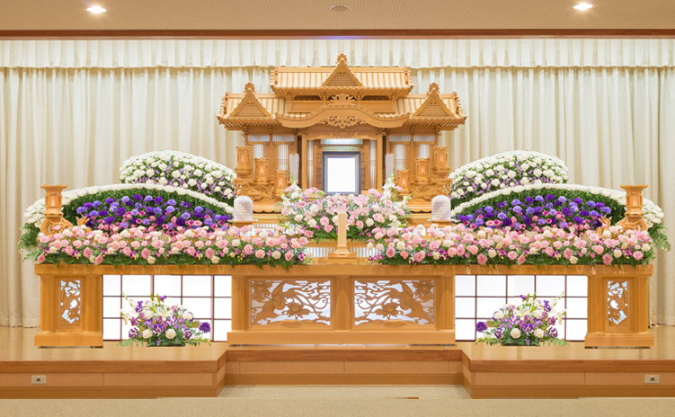 白木装飾祭壇7号