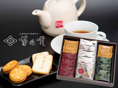 菊乃井 焼き菓子&紅茶詰め合せ
