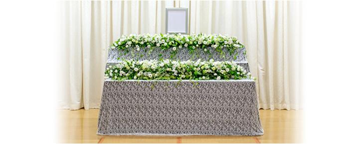 家族葬プラン58祭壇