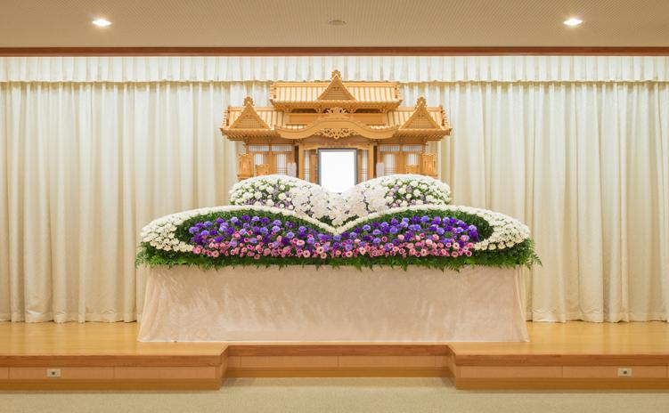 オリジナル生花祭壇3号