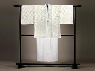 白仏衣 羽織付